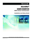 Honeywell GSMV Installation Manual