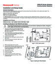 Honeywell Home PROLTE-A & PROLTE-V Installation Instructions - Dated 3/19 Rev. A
