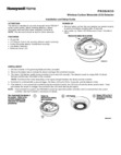 Honeywell Home PROSIXCO Installation Instructions - Dated 7/19 Rev. B