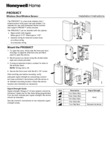 Honeywell Home PROSIXCT Installation Instructions - Dated 2/19 Rev. A