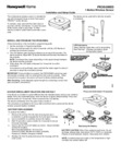 Honeywell Home PROSIXMED Installation Instructions - Dated 2/19, Rev. B