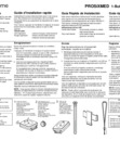 Honeywell Home PROSIXMED Quick Installation Guide - Dated 2/19, Rev. C