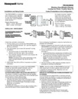 Honeywell Home PROSIXMINI Installation Instructions - Dated 2/19 Rev. B
