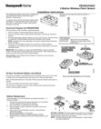 Honeywell Home PROSIXPANIC Installation Instructions - Dated 2/19, Rev. B