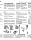 Honeywell Home PROSIXPANIC Quick Installation Guide - Dated 2/19, Rev. B