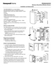 Honeywell Home PROSIXSHOCK Installation Instructions - Dated 2/19 Rev. B