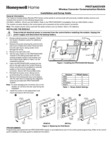 Honeywell Home PROTAKEOVER Installation Instructions - Dated 6/19 Rev. B