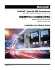 Honeywell iGSMV4G, iGSMVCN4G Installation and Setup Guide Dated Jan, 2015