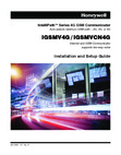 Honeywell iGSMV4G, iGSMVCN4G Installation Manual and Setup Guide Dated Jan, 2012