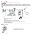 Honeywell IS3050A-SN V-Plex Polling Loop PIR Motion Sensor - Installation Instructions Dated 07/17