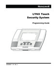 Honeywell L5000 Programming Guide