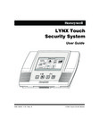 Honeywell L5100 LYNX Touch User Guide