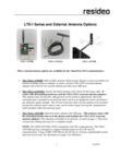 Honeywell LTE-I Series and External Antenna Options - Dated 09/2019