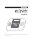 Honeywell LYNX Plus Series User Guide
