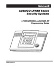 Honeywell LynxR, LynxR24 and LynxR-EN - Programming Form Rev 11+