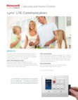 Honeywell Lyric LTE Communicators - Data Sheet