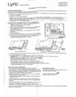 Honeywell LYRICLTE-A - Installation instructions
