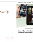 Honeywell Total Connect Video Residential Brochure