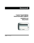 Honeywell Tuxedo Touch Installation Manual & Setup Guide