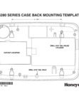 Honeywell Tuxedo Touch Mounting Template