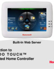 Honeywell Tuxedo Touch Port Forwarding and Video Setup - Training Presentation