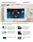 Honeywell Tuxedo Touch Security Brochure