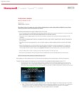 Honeywell VAM Release Notes and Update Guide Ver. 6.2.10