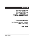 Honeywell VISTA 128BPT, VISTA-250BPT and the VISTA 128BPTSIA User Guide