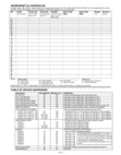 Honeywell VISTA 15P, 20P: Schedules Worksheet
