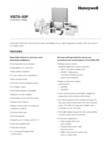 Honeywell VISTA-50P Data Sheet