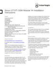 Interlogix 600-1048-XT-ZX-AT - Installation Manual