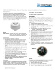 Interlogix HDX-Series Wireless Heat Detector - Install Guide