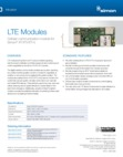 Interlogix LTE Cellular Modules - Data Sheet
