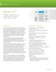 Interlogix Simon XT - Data Sheet