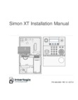 Interlogix Simon XT - Installation Manual