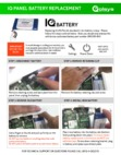 Qolsys IQ Panel Battery Replacement Guide
