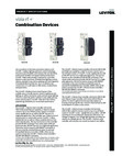 Leviton VIZIA RF + Combination Devices Specification Sheet