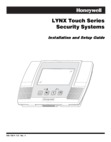 LYNX Touch Series Installation Manual & Setup Guide