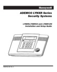 ADEMCO LYNXR and LYNXR24 Installation Manual and Setup Guide