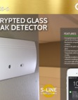 Qolsys Glass-S Glass Break Detector Sales Sheet