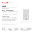 Resideo 5819S Wireless Shock Sensor - Data Sheet