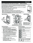 Resideo 5819S Wireless Shock Sensor - Install Guide