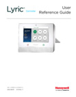 Resideo Lyric User Guide - 11/15 Rev. F