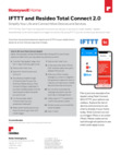 Resideo TC2 & IFTTT Quick Reference Guide - Dated 03/19