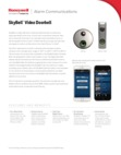 SkyBell DBCAM & DBCAM-TRIM - Data Sheet