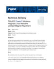 Technical Advisory Bulletin - PG9303 Failure to Indicate Fault Dated May 2019