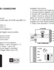 WBOX 0E-1GANGCHIM - Install Instructions