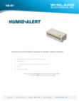 Winland HA-III+ Humidity Sensor - Data Sheet