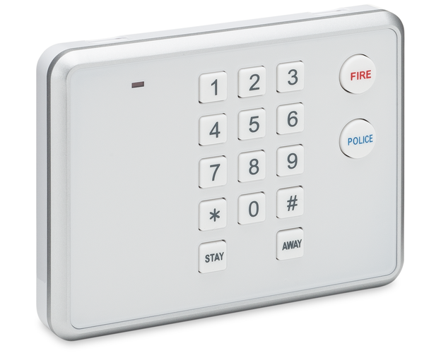 2gig Pad1 345 Wireless Keypad Alarm Grid