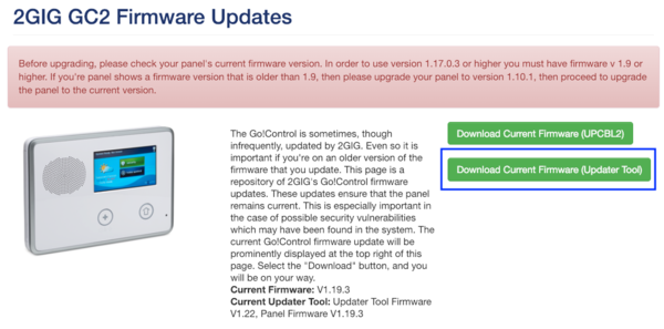How Do I Successfully Update The 2GIG Easy Updater Tool? - Alarm Grid